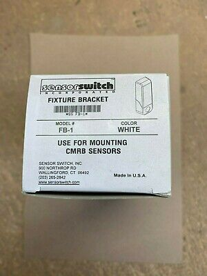 6 Pack Acuity Sensor Switch Fb-1 White Fixture Bracket