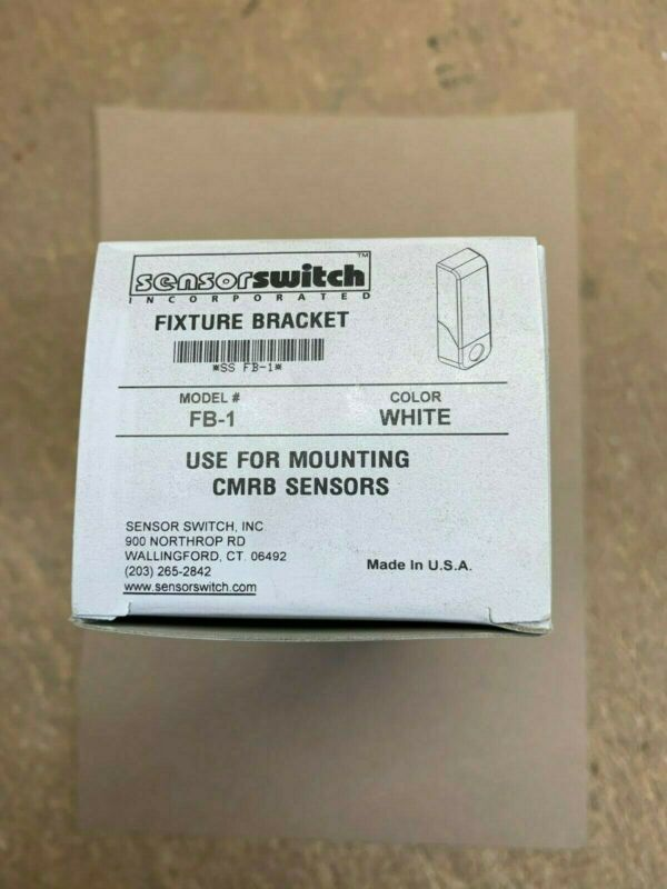 (6 pack) ACUITY SENSOR SWITCH FB-1 white  fixture Bracket