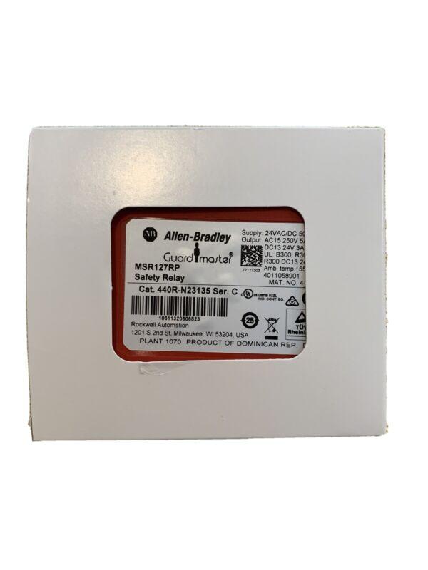 NEW! Allen-Bradley 440R-N23135 GUARDMASTER Safety Relay 440RN23135