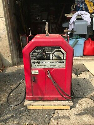 Lincoln Electric Welder Acdc 225125 60hz Arc Welder Withextension Leads.
