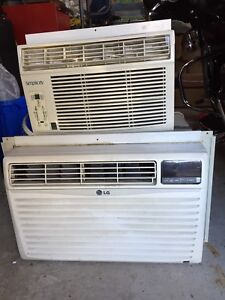 2 Window Mount Air Conditioners
