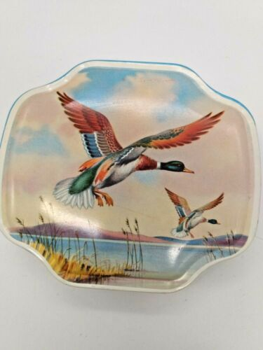Tin Box Wild Ducks Fly George W. Horner England