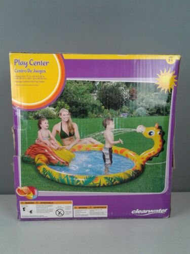 Clearwater Play Center inflatable swimming pool - giraffe sp
