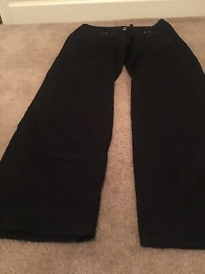 Larry Levine Stretch Women's Casual Stretch Pants Sz 12 Black Clothes