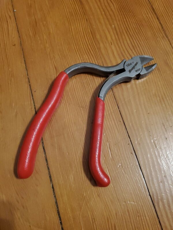 """*NEW* Snap On 6"""" 86EP - Pistol Grip Diagonal Cutter Pliers FREE SHIPPING"""