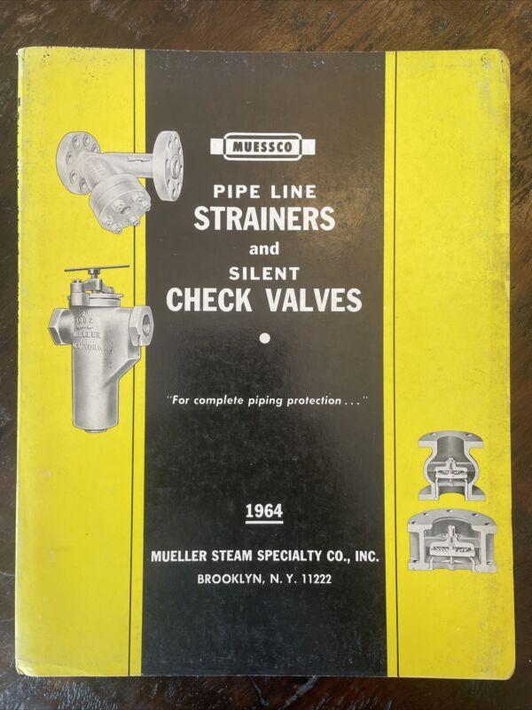 1964 MUESSCO Mueller Steam Specialty Co. Catalog Brooklyn New York