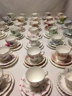 FETE in Cranbourne – trios, and cup with saucer sets for sale Cranbourne Casey Area Preview
