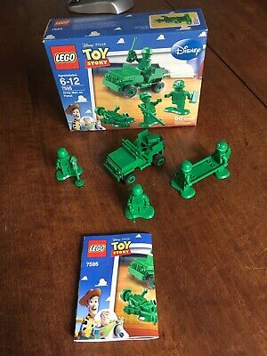 LEGO Toy Story Army Men on Patrol 7595 100% Complete w/ Instructions and Box