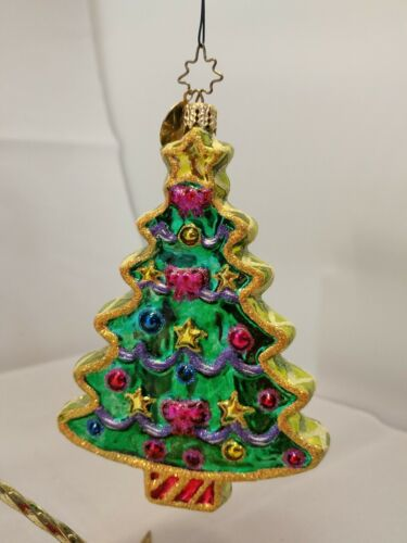 Christopher RADKO SWEET-TREE COOKIE Holiday Christmas Ornament 02-05550 - $99.99