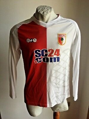 MAGLIA CALCIO DO YOU FOOTBALL FC AUGSBURG SC24.COM JERSEY TRIKOT 2009 SIZE L image