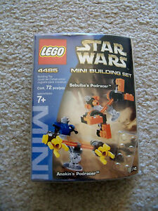 LEGO Star Wars - Rare 4485 Sebulba's Podracer & Anakin's Podracer - New & Sealed