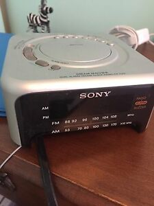Sony Alarm Clock