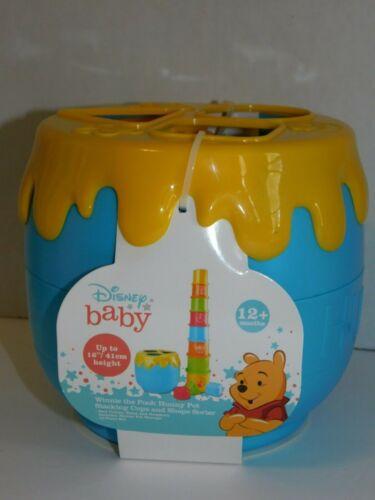 Winnie  the Pooh Stacking Cups Shape Sorter Honey Pot Disney Baby