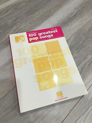 MTV 100 Greatest Pop Songs Easy Piano 9781423443018 (Paperback, 2008) Songbook