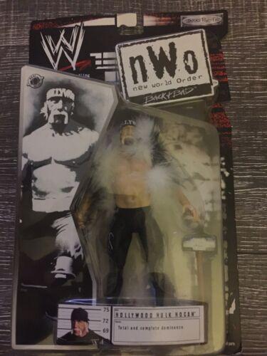 WWE JAKKS PACIFIC NWO KEVIN NASH AUTOGRAPHED ACTION FIGURE