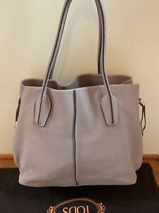 d06b7e5290 Auth Tod's D-styling Shopping Bag; Elephant Grey