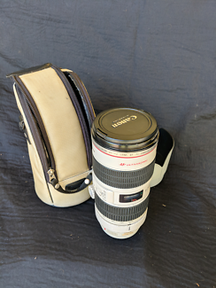 Canon 70-200mm f 2.8 is