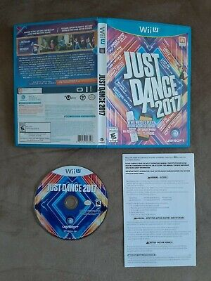 Just Dance 2017 - Wii U - Good Condition - Complete - Tested