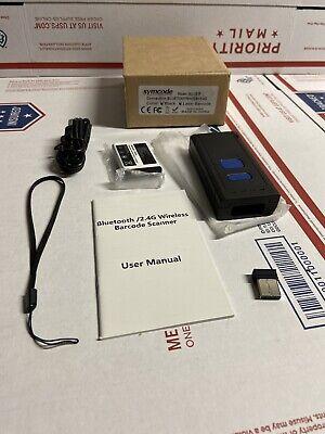 Wireless Bluetooth Barcode Scannersymcode Mini Portable Barcode Reader Scanner