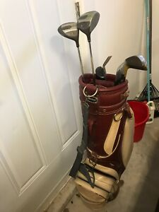 Used Golf clubs with bag