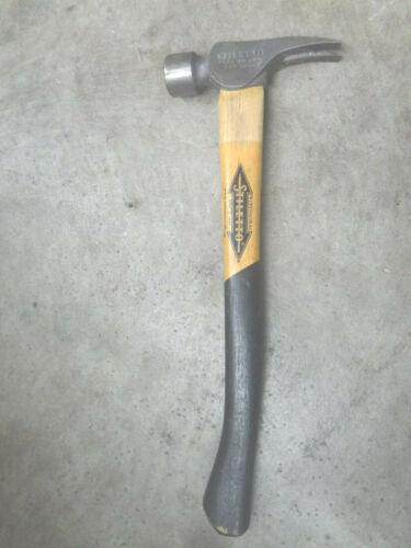 Stiletto Tool Co. Framing Hammer 14oz Ruger Titanium Wooden Handle