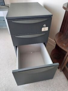 3 drawer under desk filing cabinet - great home office