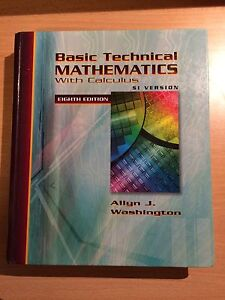 Basic Technical Mathematics with Calculus, 8th Edition