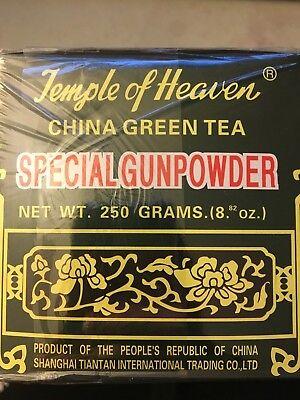 Holy place of Heaven-China Green Tea - Special Gunpowder Loose Tea-8.82 OZ (250g
