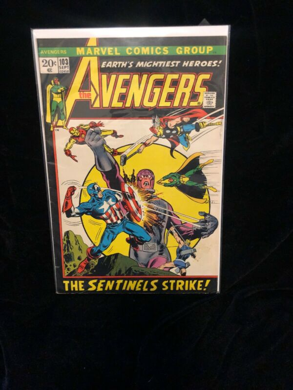 Avengers # 103 Marvel Comics.