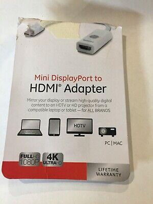 Jasco Adapter (jasco mini displayport to HDMI Adapter)