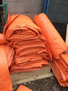 Construction thermal blankets $2000 value