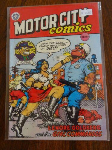 Motor City Comics Underground Comix Comic Book Last Gasp High Grade