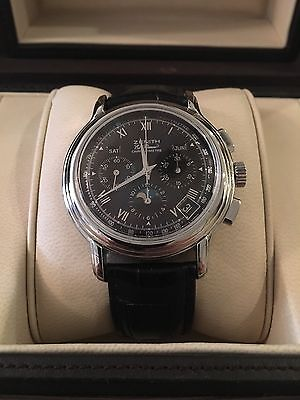 ZENITH El Primero Chronomaster Moonphase!! Recently serviced.