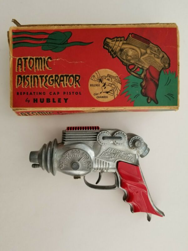 VINTAGE 1954 HUBLEY No. 270 ATOMIC DISINTEGRATOR MINT NEVER FIRED OR PLAYED WITH