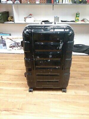 Samsonite Luggage Hard Case W/ Wheels Travel Suitcase Black CAG SEAL DEVGRU
