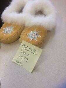 Ladies moccasins