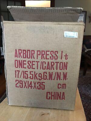 1 Ton Arbor Press Benchtop