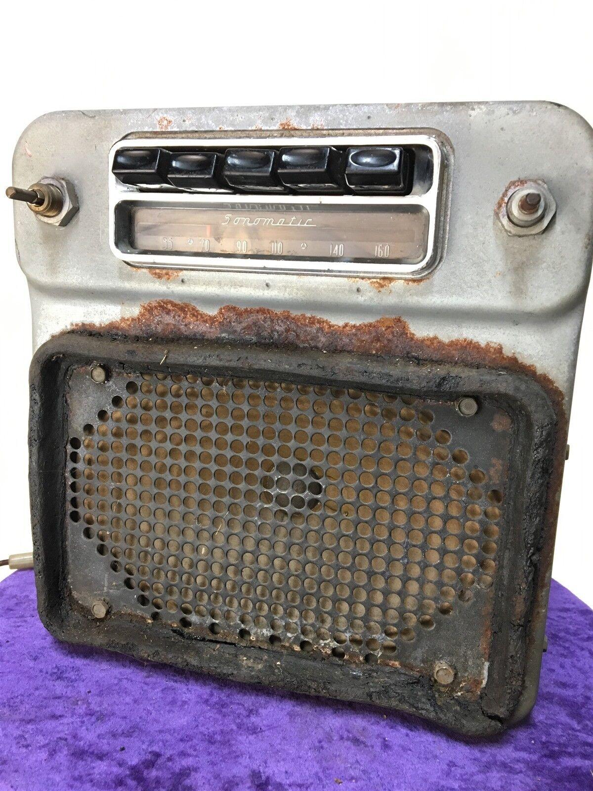 1956 BUICK Sonomatic Spec Wagon 981707 RADIO super retro
