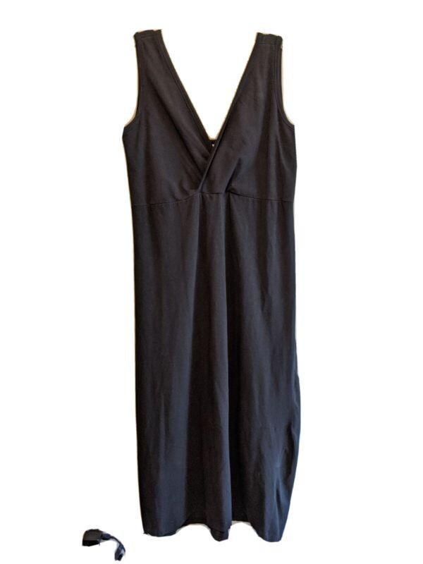 Aimee Nursing Wear Black Gown Dress Xl