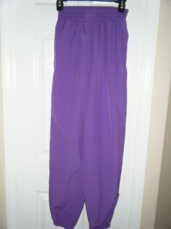 BOBBIE BURNS COLLECTION PURPLE JOGGING SUIT