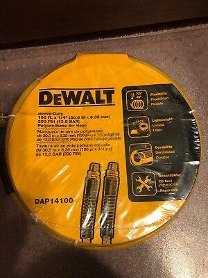 Dewalt Air Compressor Hose Blend 14 In. X 100 Ft. Fast Shipping