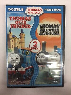 Thomas & Friends: Thomas Gets Tricked / Halloween Adventures (DVD, 2015, New)