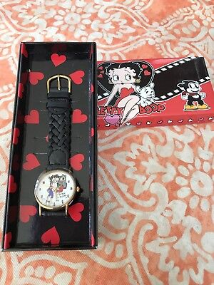 Betty Boop Playing The Slots Wrist Watch New