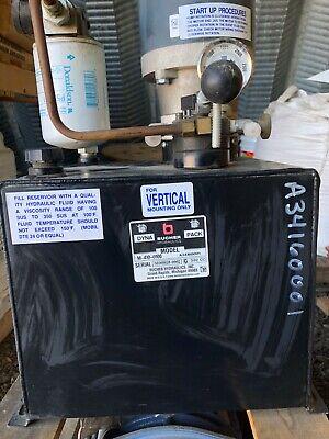 Bucher Hydraulics M-410 Power Unit Dyna Pack