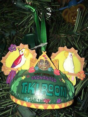 Disney Enchanted Tiki Room Ear Hat Ear Ornament NEW