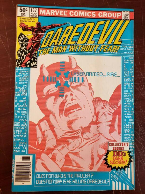 Daredevil #167 - High Grade - Frank Miller