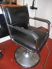 Black Salon Chairs & Dryers