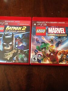 Lego PS3 games