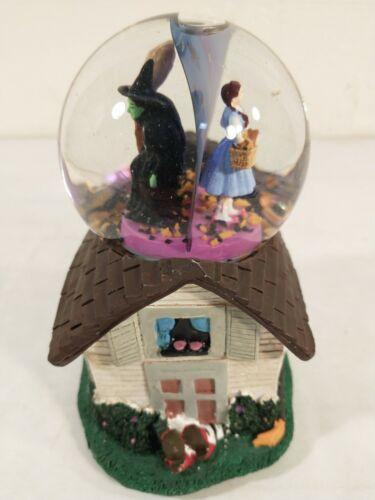 Kcare / Turner Wizard of Oz Snow Globe Music Box ~ Dorothy Wicked Witch