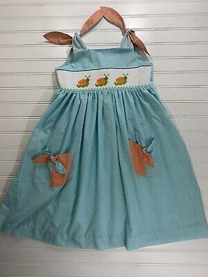 Mom & Me Girls Size 5 Smocked Dress